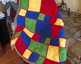 Building Block Kid's Blanket