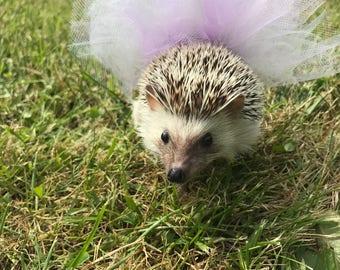 Purple and White Hedgehog Tutu
