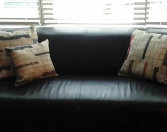 Geometric Beige Decorative Pillows