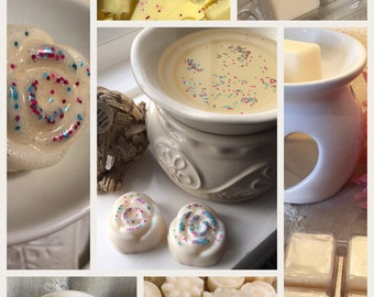 Cocoa Butter scent ,Soy Wax Melts , highly scented  , uk , wax tart, Natural wax