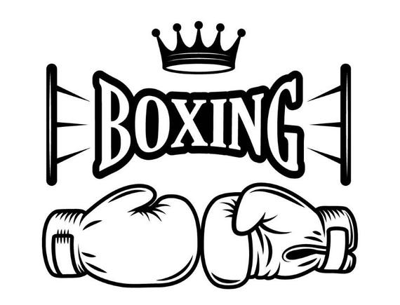 Boxing Logo 7 Fight Fighting Fighter MMA Mixed Martial Arts
