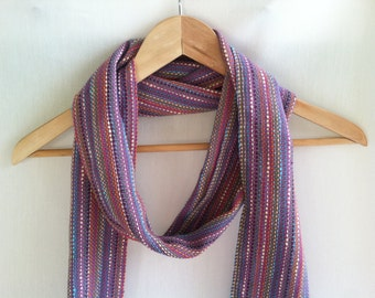 Purple Scarf Cotton Scarf