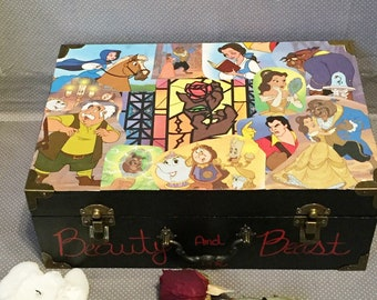 Beauty and the Beast collage box
