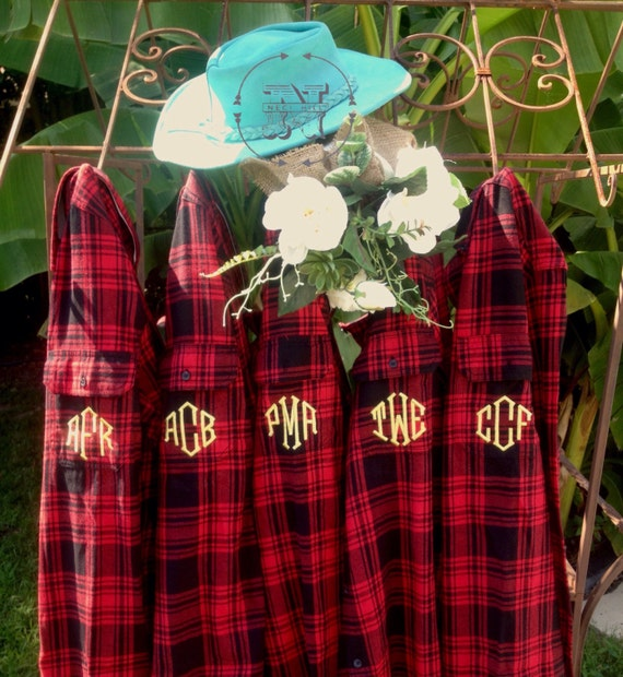 BRIDESMAIDS gift personalized bride flannel shirt for girls weekend bachelorette party bridal squad goals QkkrA4