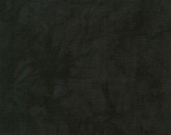 RJR Handspray Mottled Black Ink Smoke Tonal Fabric 4758-017 BTY