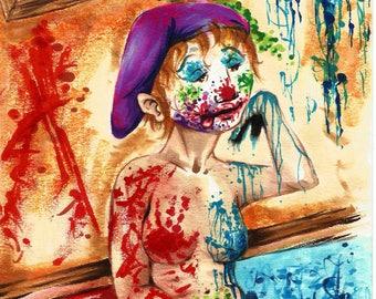 ART American Clownz print