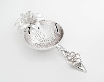 TITASY Platinum Tea Strainer [Rest of the afternoon, TS-08]