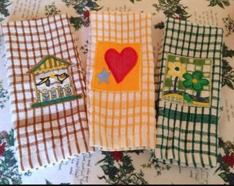 Vintage ITALIAN Tea Towels