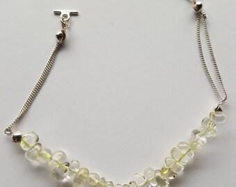 Sterling silver Citrine Bracelet