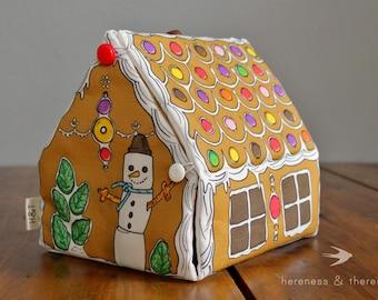 Wee Fabric House: Lebkuchenhaus
