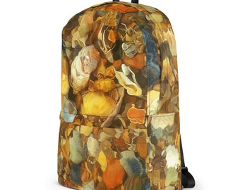 Hidden Treasures Sea Shells Ocean Beach Backpack