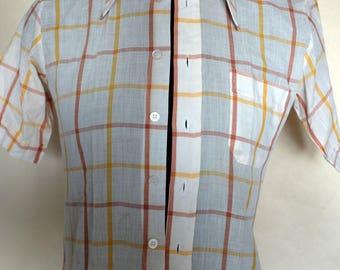 Original 1970s Slim Fit Short Sleeve Shirt