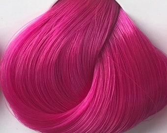 Nylon Doll Hair, Deluxe OOAK, Watermelon Tress, Rerooting