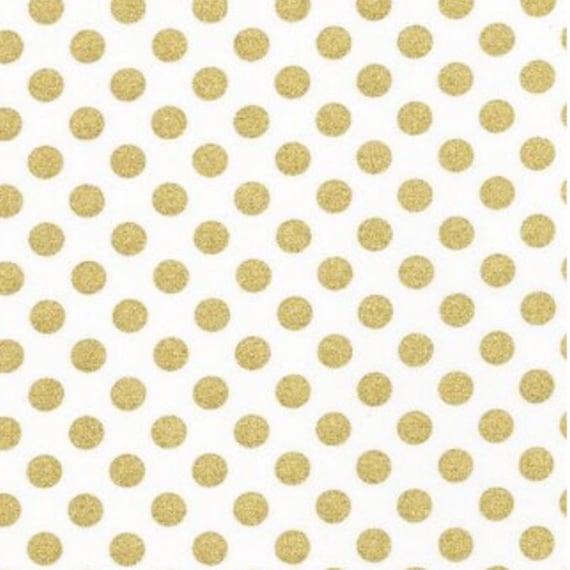 Metallic Gold Dot & Coral Bumbo Cover