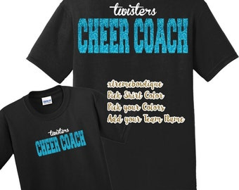 Cheer Coach Shirt / Cheer Shirt / Coach Shirt / Cheer t-shirt / Cheer Tee / Cheerleader Shirt