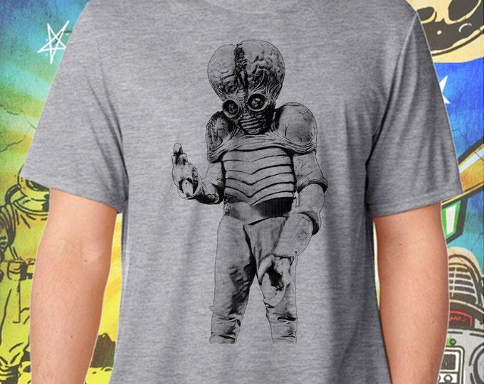 This Island Earth / Mutant / Men's Gray Performance T-Shirt