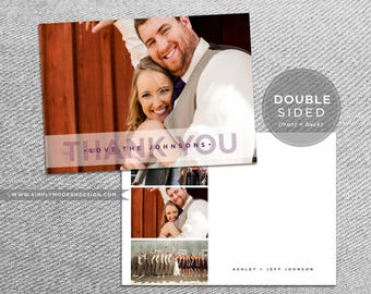 rustic wedding thank you, thank you card, engagement, bridal shower, guest thank you, thank you note, cards, PRINTABLE or PRINTED thank you