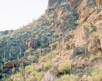 Gates Pass Mountain print, mountain vista fine art print, Arizona desert photo print, Arizona print, Southwestern decor