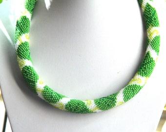 "PATTERN Bead crochet ""Ivy Bush"""