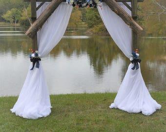 Arbor wedding arrangement