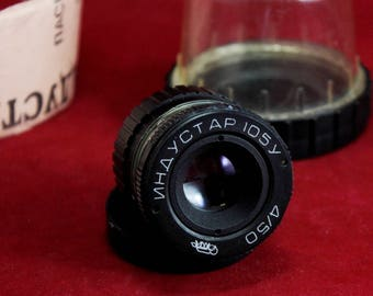 Tested Industar-105U 4/50mm Enlarger lens with screw M39 mount