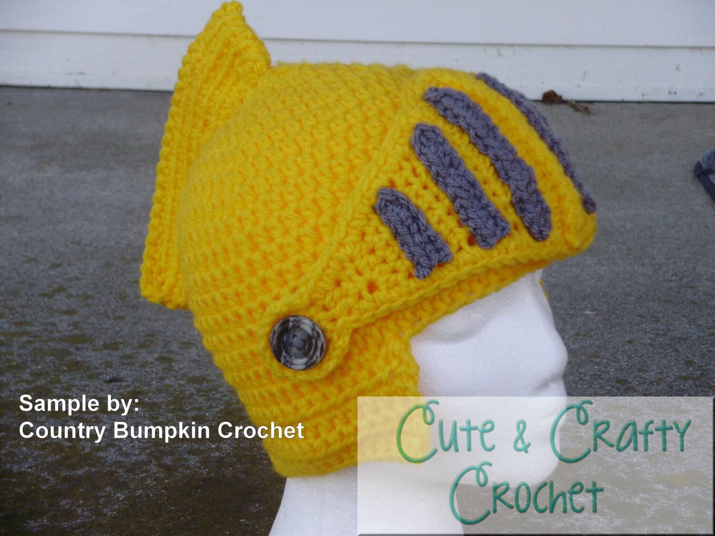 Awesome Crochet Knight Helmet Pattern Pdf Ideas - Easy Scarf ...