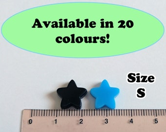 Star Laser Cut Acrylic Cabochons Supplies, Great for Earrings!