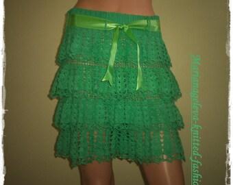 Skirt women /Crochet / order