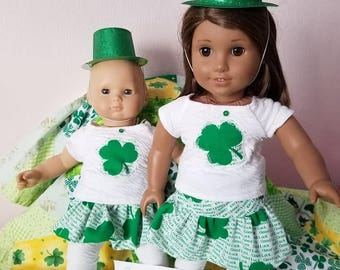 Good Luck SHAMROCK Doll Outfit
