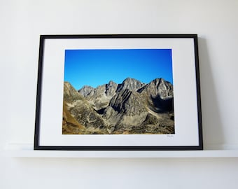 Andorra Mountain Range Print