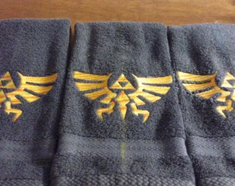 Legend of Zelda Embroidered Hand Towel