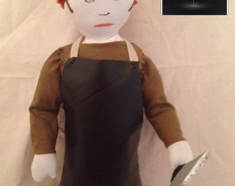 Dexter Inspired Fabric Doll