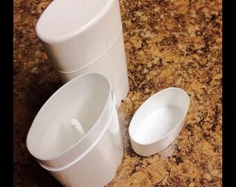Five Empty Deodorant Tubes