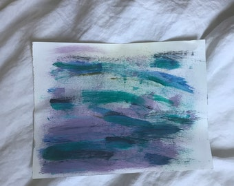 Misty Dream Painting - Canvas Paper
