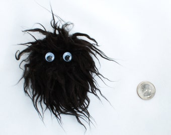 Black Monster Fridge Magnet