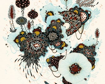 Giclee Fine Art Print - Whisk - 11x14 - Print