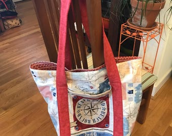 Extra Large Floppy Tote Bag
