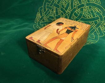 Egyptian tarot box