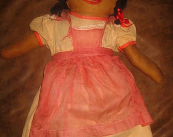 Vintage Rag Doll, Very Nicely Made