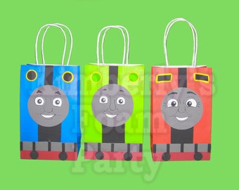 9 Thomas the train and friends Foam party bags