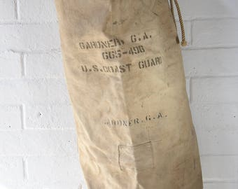 Vintage Coast Guard Duffel Bag