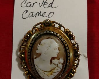 Unmarked Carved Cameo