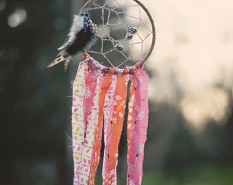 Bohemian Up Cycled Dream Catcher