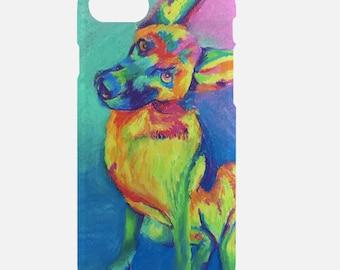 German Shepherd iPhone 6/7 Tough Case