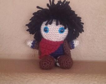 Merlin BBC ~ Crochet Doll
