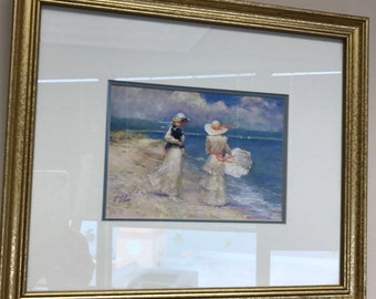 Artist R. Tolan - Gorgeous Framed Print - Ready to Hang!
