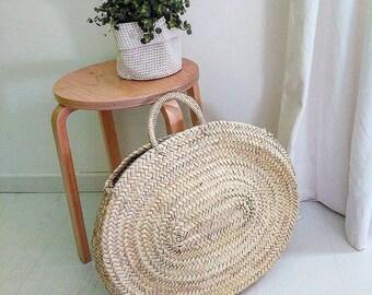 Oval Basket Bag
