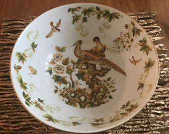 Beautiful Bird Chinoiserie Bowl