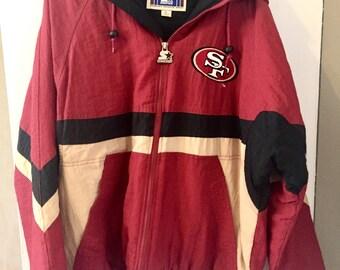 Vintage 90s San Fransisco 49ers Starter Jacket L