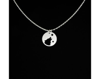 Wolf Necklace - Wolf Jewelry - Wolf Gift